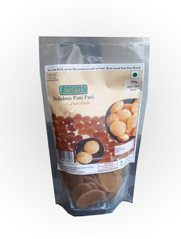 EatQuick EatQuick Pani Puri (Puri Pack) 200 g(Pack of 5)