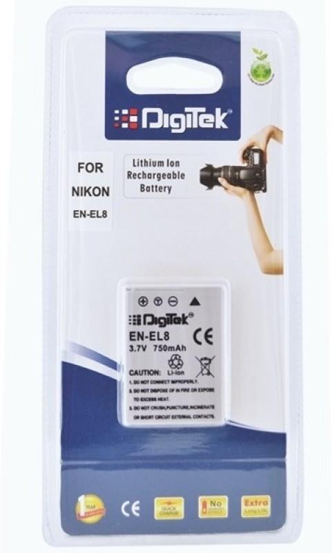 Digitek Nikon ENEL 8 Rechargeable Li-ion Battery