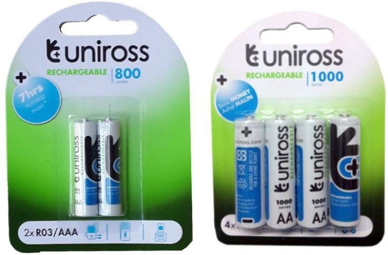 uniross 4/AA2/AAA Rechargeable Ni-MH Battery