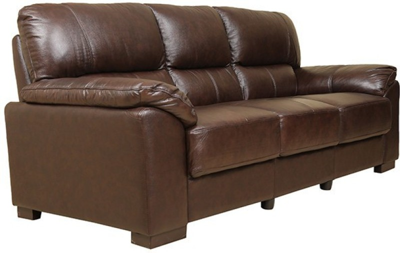 HomeTown Half-leather Manual Sectionals(Finish Color - Walnut)