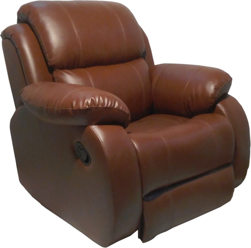 innovate Leatherette Manual Recliners(Finish Color - brown)