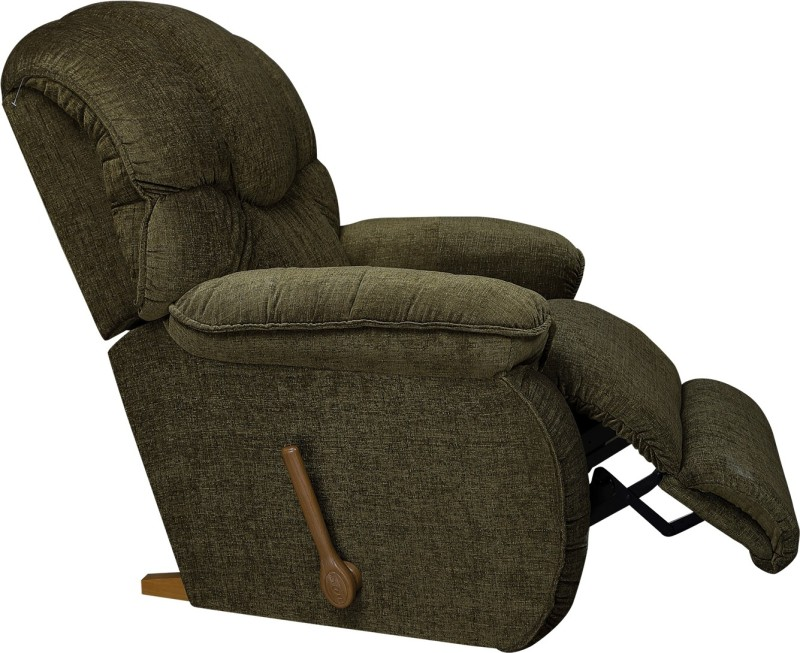 La-Z-Boy Dreamtime Fabric Manual Rocker Recliners(Finish Color - Green)