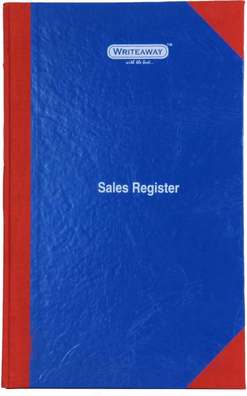 Writeaway BSC00637 REG-37 1-Part Sales Register(1 Sets, Sales)