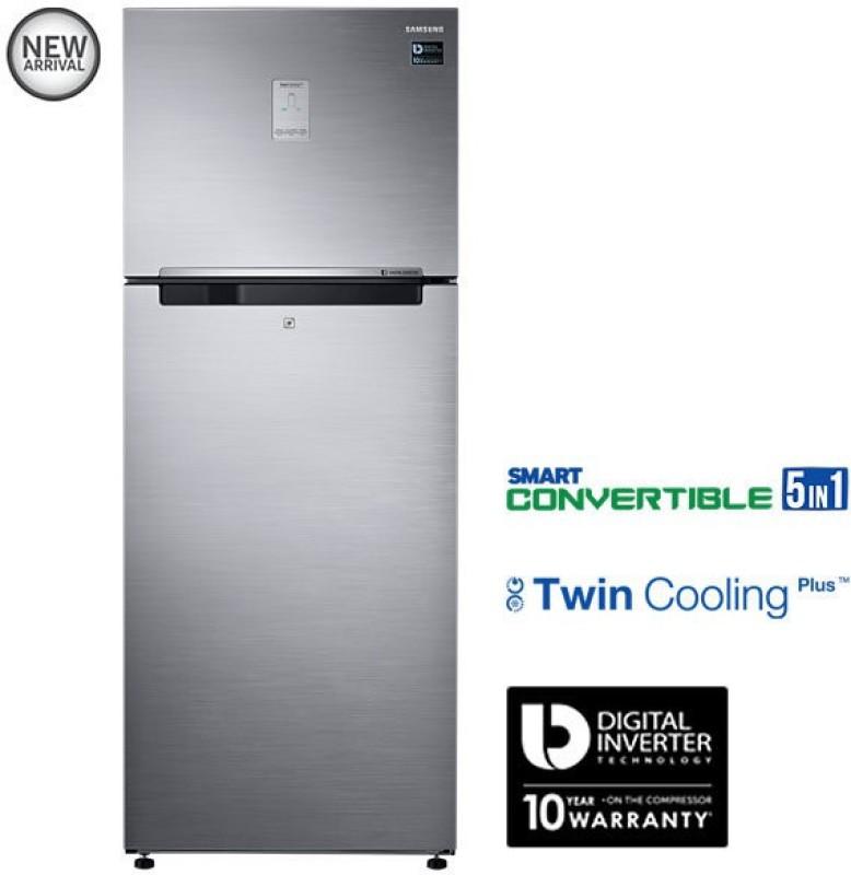 Samsung 476 L Frost Free Double Door Refrigerator(Refined Inox, RT49K6758S9)