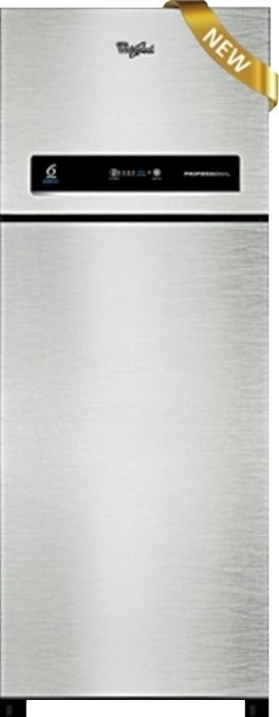 Whirlpool 340 L Frost Free Double Door 3 Star Refrigerator(Alpha Steel, 355 ELT 2S)