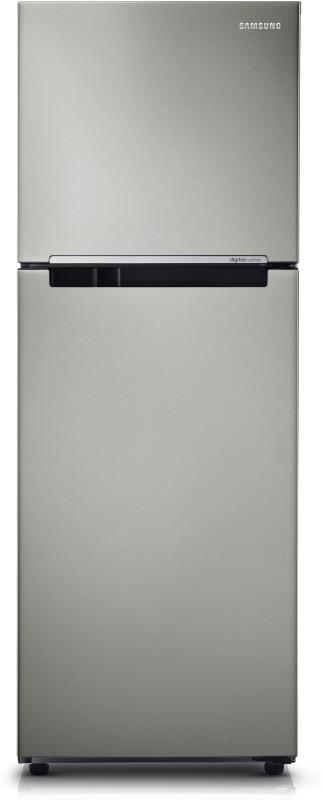 Samsung 251 L Frost Free Double Door Refrigerator(REFINED INOX, RT28K3083S9)