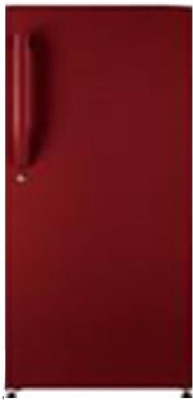 Haier 195 L Direct Cool Single Door Refrigerator(Brushline Red, HRD-1954BR-R/E)