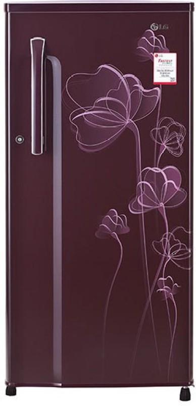 LG 188 L Direct Cool Single Door Refrigerator(Scarlet Heart, GL-B191KSHU)