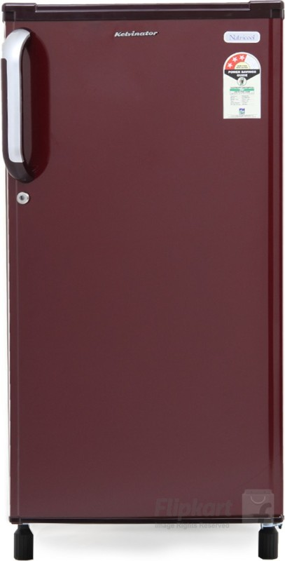 Kelvinator 170 L Direct Cool Single Door Refrigerator(Burgundy Red KW183E BR)