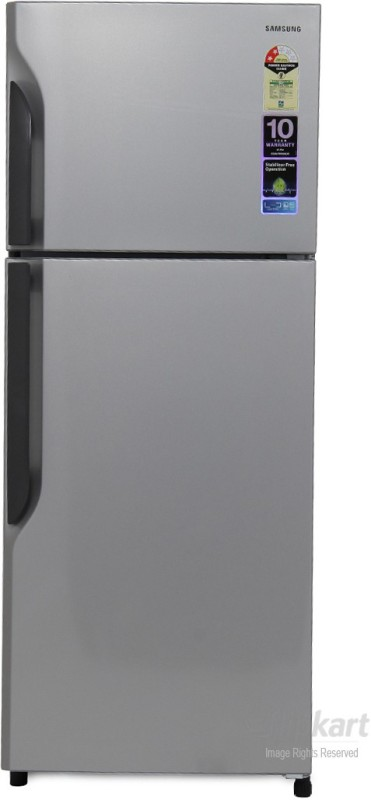 Samsung 255 L Frost Free Double Door Refrigerator(Elective Silver, RT26H3000SE)