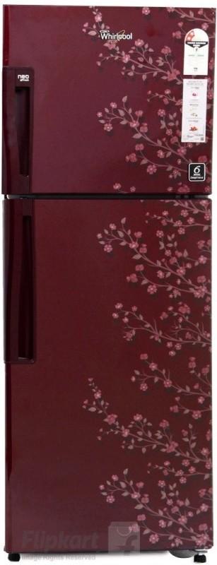 Whirlpool 245 L Frost Free Double Door Refrigerator(Wine Gloria, NEO...