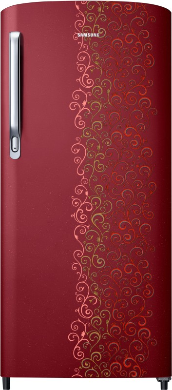 Samsung 192 L Direct Cool Single Door Refrigerator(Royal Tendril Red,...