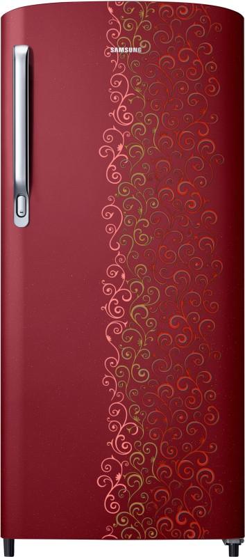 Samsung 192 L Direct Cool Single Door Refrigerator(RR19M1712RJ-HL/RR19M2712RJ-NL, Royal Tendril Red, 2017)