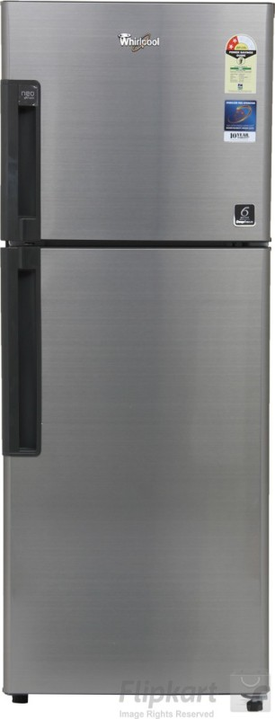 Whirlpool 245 L Frost Free Double Door 2 Star Refrigerator(Illusia Steel, NEO FR258 ROY 2S)