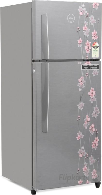 Godrej 241 L Frost Free Double Door Refrigerator(Silver Meadow, RT...