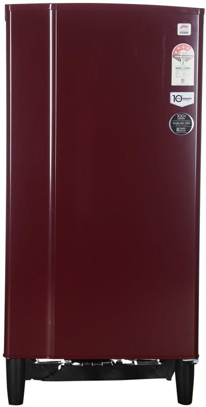 Godrej 185 L Direct Cool Single Door Refrigerator(Wine Red RD EDGE 185 CW 4.2)