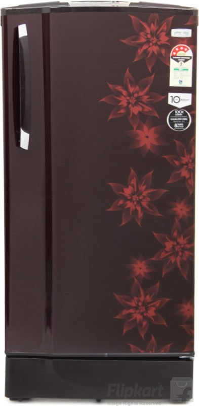 Godrej 185 L Direct Cool Single Door Refrigerator(Berry Bloom Muziplay)