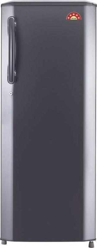 LG 270 L Direct Cool Single Door Refrigerator(Titanium, GL-B281BPZX)