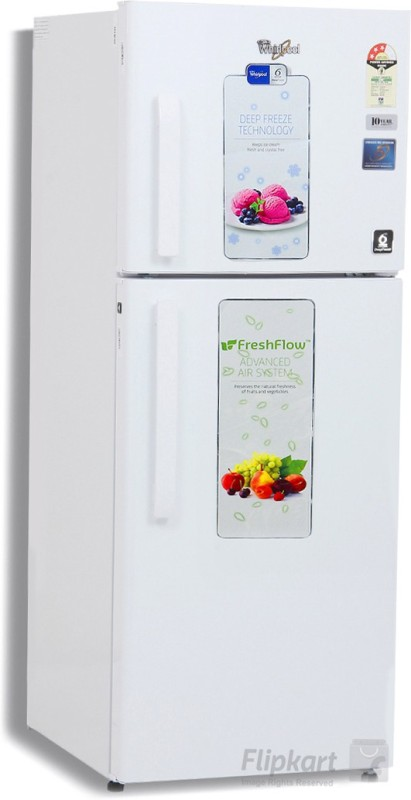 Whirlpool 245 L Frost Free Double Door 3 Star Refrigerator(Australia White, NEO FR258 CLS PLUS 3S)