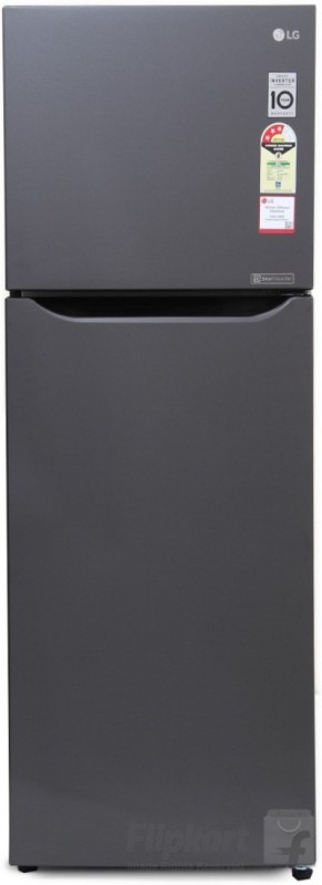 LG 255 L Frost Free Double Door Refrigerator(Titanium, GL-Q282STNM.DTNZEBN)