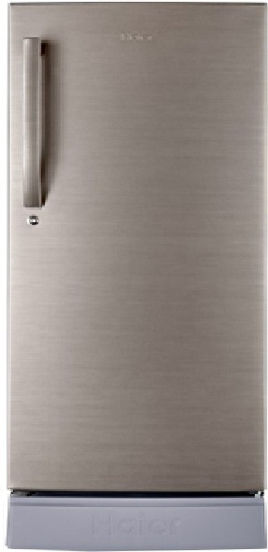 Haier 195 L Direct Cool Single Door Refrigerator(Brushed Silver, HRD-1954PBS-R/E)