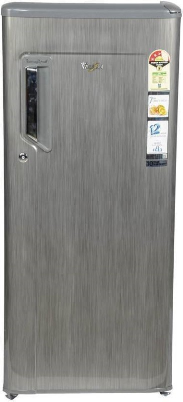 Whirlpool 200 L Direct Cool Single Door Refrigerator(Grey Titanium, 215...