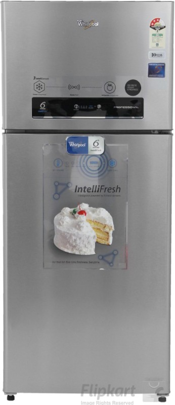 Whirlpool 410 L Frost Free Double Door 3 Star Refrigerator(Alpha Steel, PRO 425 ELT 3S)