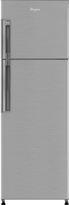 Whirlpool 265 L Frost Free Double Door 3 Star Refrigerator(Nova Steel, Neo FR278 PRM)