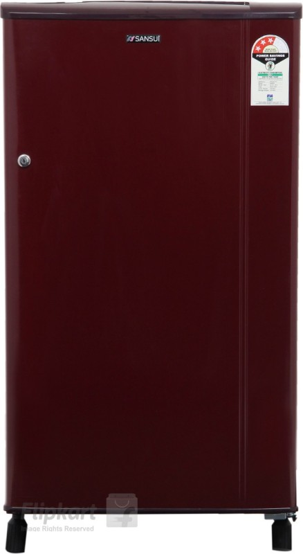 Sansui 150 L Direct Cool Single Door Refrigerator(Burgundy Red SH163BBR-FDA)