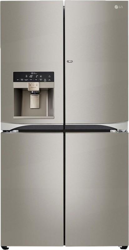 LG 889 L Frost Free Side by Side Refrigerator(Artline, GR-J31FWCHL)