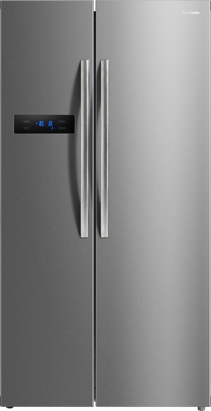Panasonic 582 L Frost Free Side by Side Refrigerator(Stainless Steel,...