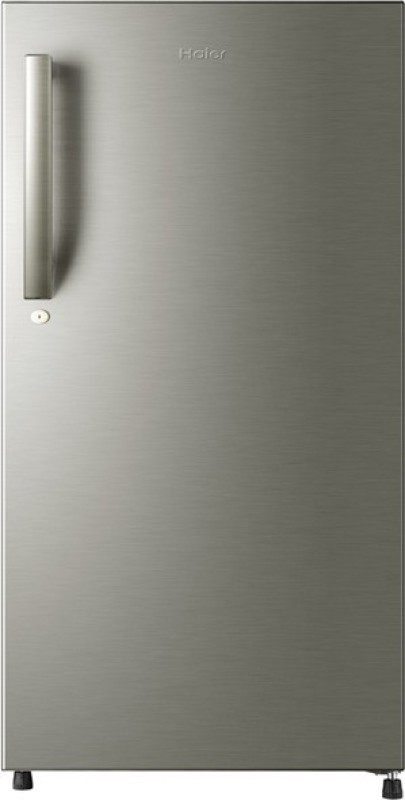 Haier 220 L Direct Cool Single Door Refrigerator(Brushline silver, HRD-2204BS-R/E)