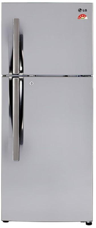 LG 260 L Frost Free Double Door Refrigerator(Shiny Steel, GL-T292RPZX)