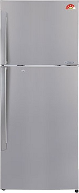 LG 335 L Frost Free Double Door Refrigerator(Shiny Steel, GL-U372JPZX)