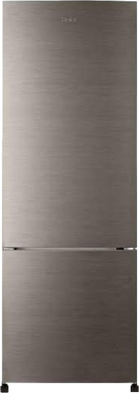 Haier 320 L Frost Free Double Door Refrigerator(Brushline Silver, HRB-3403BS)