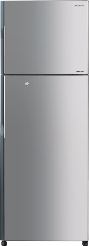 Hitachi 318 L Frost Free Double Door Refrigerator(Inox, R-H350PND4K (INX))