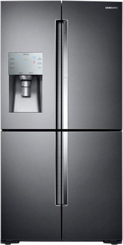 Samsung 826 L Frost Free French Door Bottom Mount Refrigerator(Black...