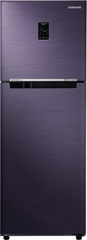 Samsung 253 L Frost Free Double Door Refrigerator(Pebble Blue, RT28K3722UT)