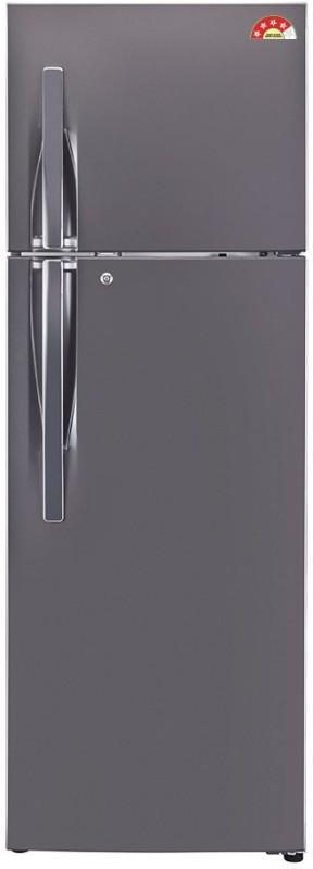 LG 360 L Frost Free Double Door Refrigerator(Titanium, GL-I402RTNL)