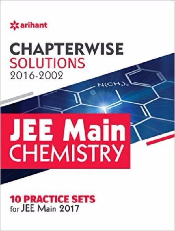 Chapterwise Solutions JEE Main Chemistry (2016-2002) (English) 8 Edition(Paperback)(Paperback, Experts' Compilation)