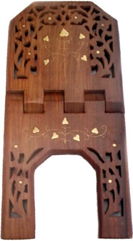 Wood Beauty Wooden Brown Rehal(Width (Open) = 26 cm : Height (Open) = 20 cm)