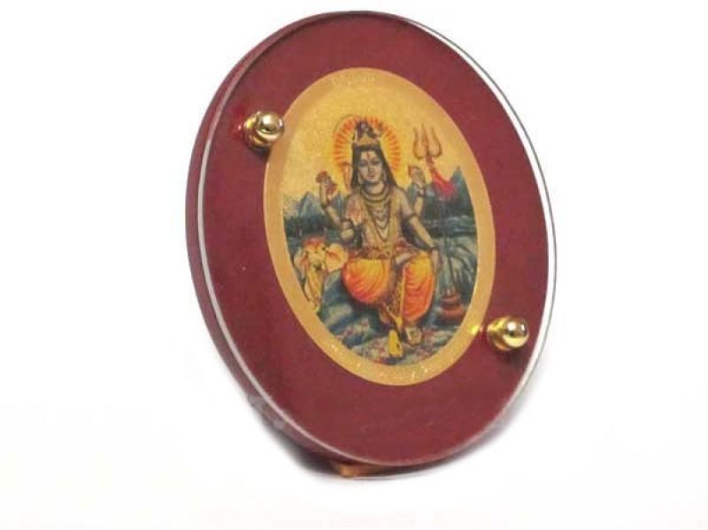 Sitare Lord Shiva 24 ct. Gold Foil Diviniti Photo Frame Religious Frame