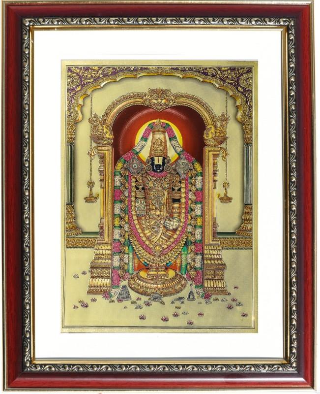 GoldArt Venkateswara Religious Frame