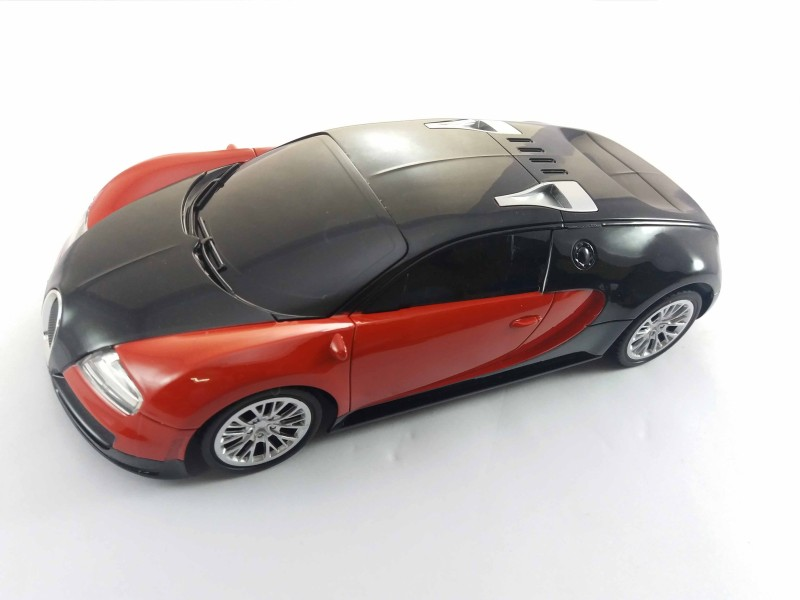 GPZ R/C 1:16 SCALE BUGATTI - RECHARGEABLE MODEL RACING CAR-REMOTE CONTROL(Red)