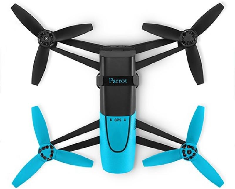 Parrot Bebop Drone 14 MP Full HD 1080p Quadcopter(Blue, Black)