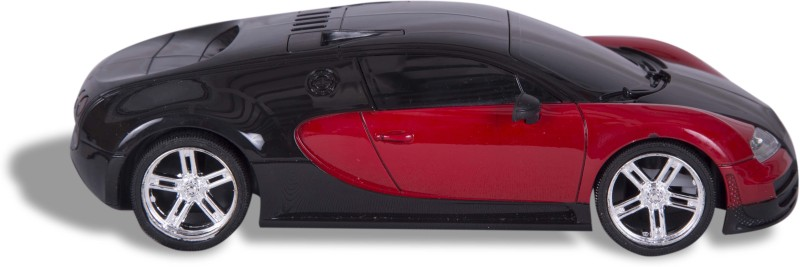 Building Mart 1:18 RC Bugatti Veyron Rechargeable 4CH Speed Sports Car(Red)