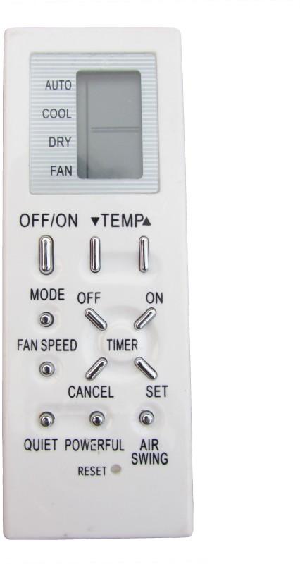 Indiashopers 2015-2016 Compatible for Godrej AC 136 Remote Controller(Cream)