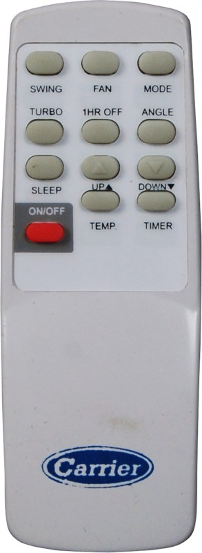 Indiashopers iscrier Compatible For Carrier Ac 04 Remote Controller(Cream)