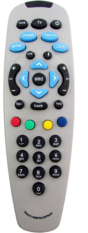 Indiashopers Compatible For Dth Set Top Box Of Tata Sky Remote Controller(Multicolour)