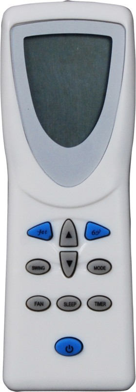 Indiashopers iswhrlpl Compatible For Whirlpool Ac Remote Controller(White)